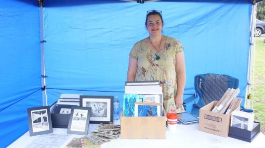 Happy stall holder:)