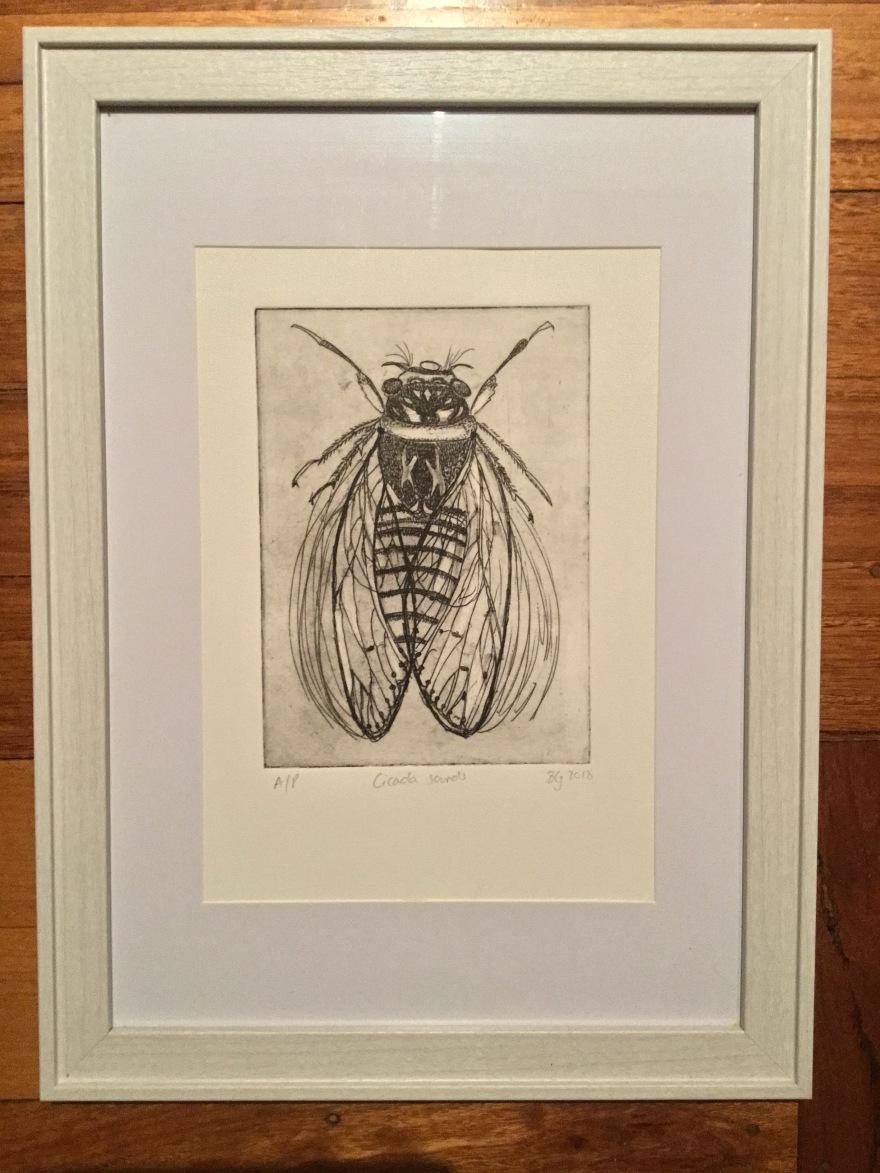 Cicada sounds.
